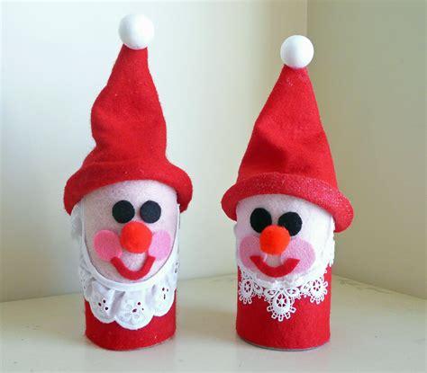 preschool crafts  kids toilet roll santa christmas craft