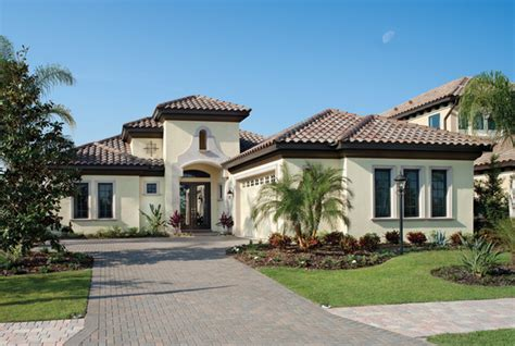 Luxury Home Plans Florida by Bardmoor 1172 Mediterranean Exterior Ta By