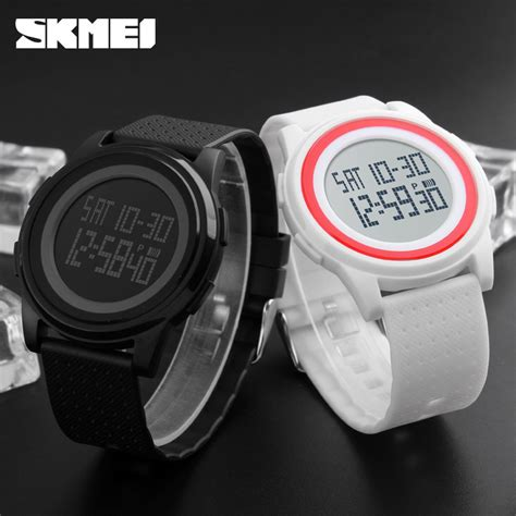 Jam Tangan Vavorite Digital Wanita Sport Water Resisst skmei jam tangan digital pria dg1206 black jakartanotebook