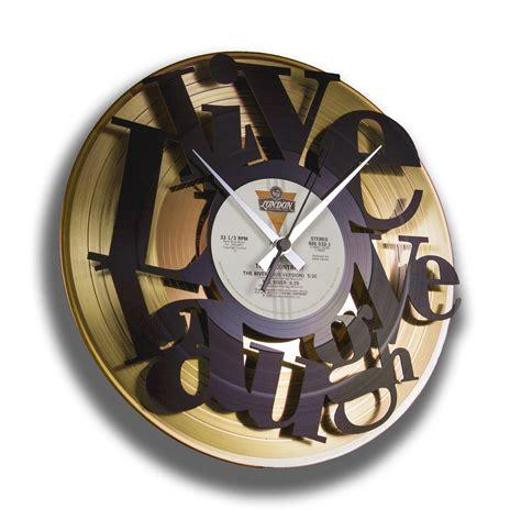 orologi da arredo orologio vintage con vinili da arredo moderno live