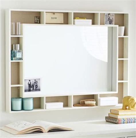 whiteboard design at home cute whiteboard shelving unit decor ৯ office pinterest