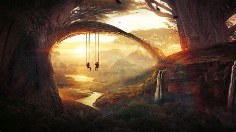 swing wallpaper tree swing by t1na on deviantart