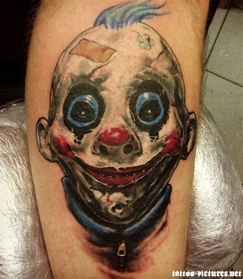 tattoo designs evil clown 70 awesome clown tattoos