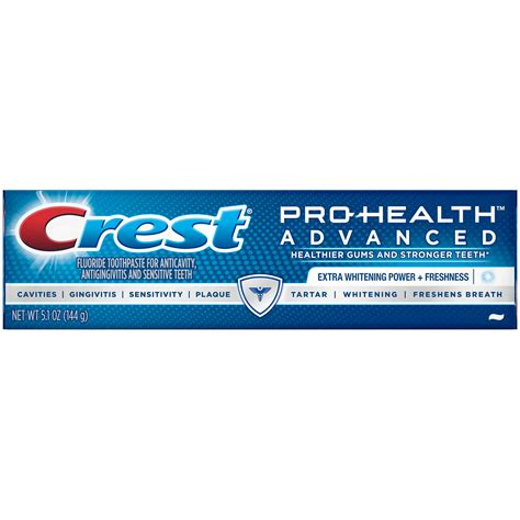 Healty Care Toothpaste 1 Crest Pro Health Advanced Whitening Power