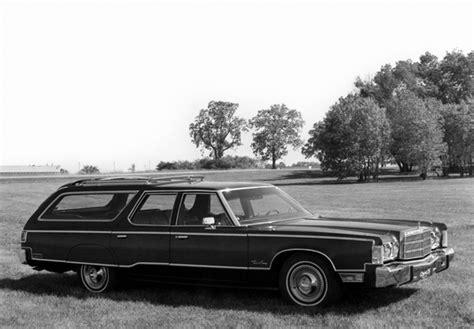 Provincial Chrysler Chrysler Town Country 5c P 1975 Photos