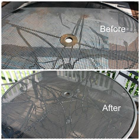 outdoor metal patio furniture 12 outdoor furniture makeovers easier than you think