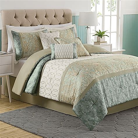 bed bath and beyond king comforter sets dorado 7 piece comforter set bed bath beyond