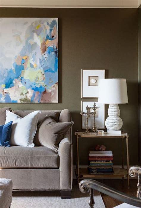 Sofa Paintings by Above Sofa Contemporary Living Room David Jimenez