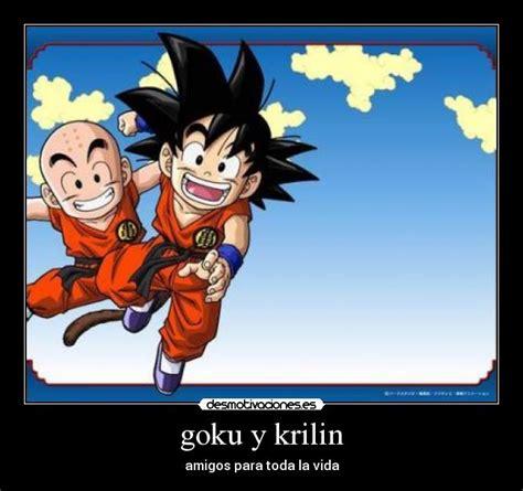 Imagenes De Goku Y Krilin | goku y krilin desmotivaciones