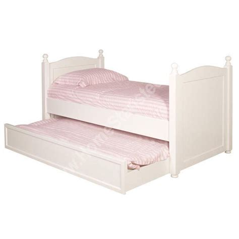 bed with pull out bed home white trundle 3ft single bed pull out furniture beds