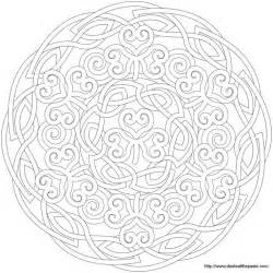 celtic design coloring pages coloring home