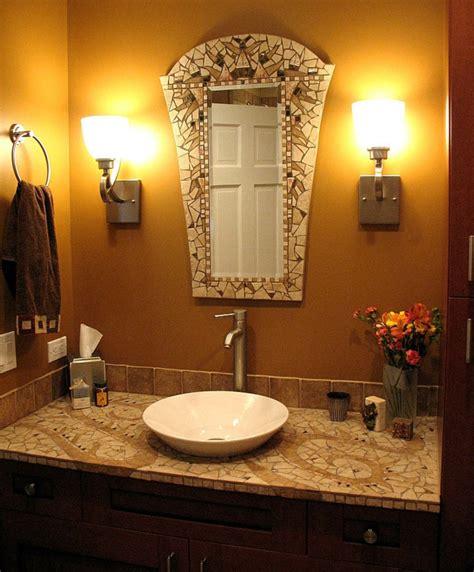 spiegel gestalten badezimmer mit mosaik gestalten 48 ideen archzine net