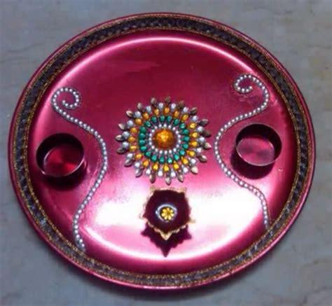 decorative aarti thali online aarti thali diwali decorations pinterest