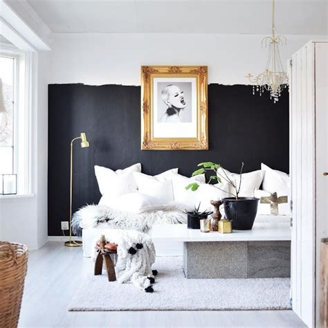 room with black walls best 25 half painted walls ideas on modern