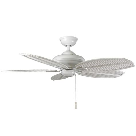 hton bay palm beach fan hton bay 26699 palm beach ii 48 in outdoor white