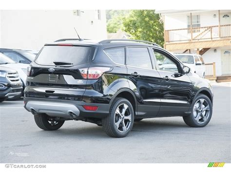 ford escape 2017 black 2017 shadow black ford escape se 4wd 114301452 photo 3