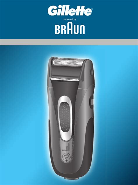 braun electric shaver 5739 user guide manualsonline