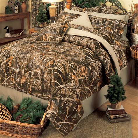 camouflage comforter sets queen size realtree max 4 camo