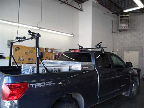 2007 Toyota Tundra Roof Rack by 2007 Toyota Tundra Boat Rack Installation