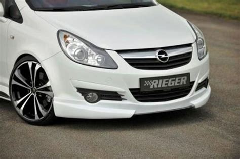 Auto Tuning München Shop by Frontspoilerlippe Rieger Tuning Opel Corsa D Jms