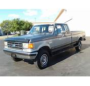 1989 FORD F250 4X4 Extended Cab For Sale