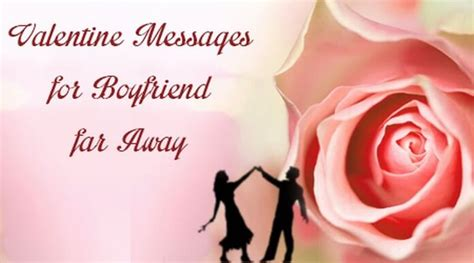 valentines message to fiance messages for boyfriend far away special