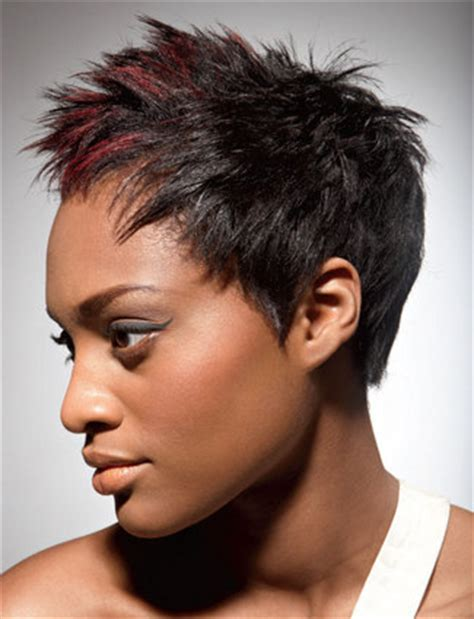 spick hair sytle for black women spiked short black women haircut thirstyroots com black