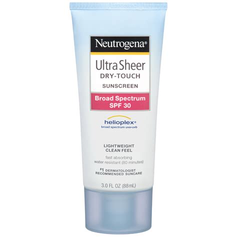 Neutrogena Ultra Sheer Touch Sunscreen Lotion Spf 50 85ml Neutrogena Ultra Sheer Touch Sunscreen