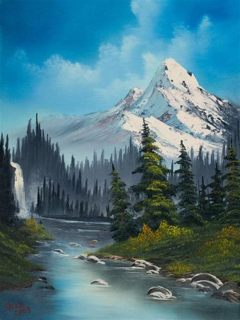 bob ross paintings on sale 4304 best images about paintings mountains and streams on
