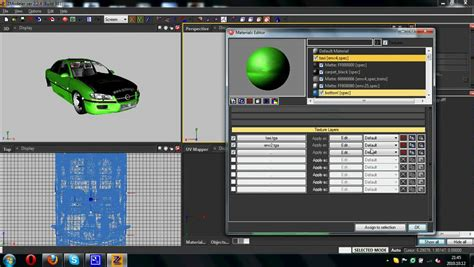 Zmodeler2 How To Make Template On Car Gta Sa Youtube How To Create A Template In