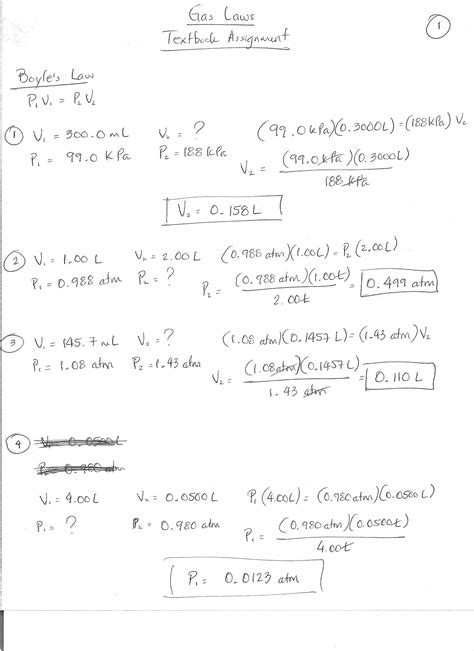 charles worksheet with answers ideal gas problems worksheet fioradesignstudio