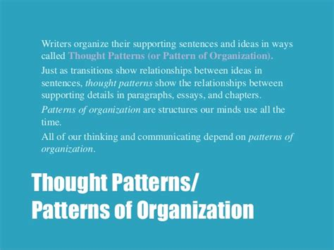 pattern of organization transition words eng 83 r transitions and patterns of organization