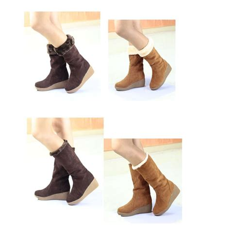 Macbook Pro 15 Inch Chocolate Sand wedge high heel multi wear belt cotton padded mid calf