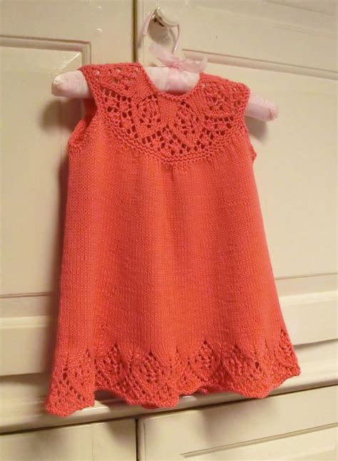 knitting patterns baby frocks the world s catalog of ideas