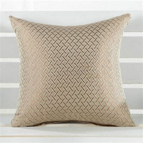 Elegant Hot Grid Throw Pillow Case Home Car Sofa