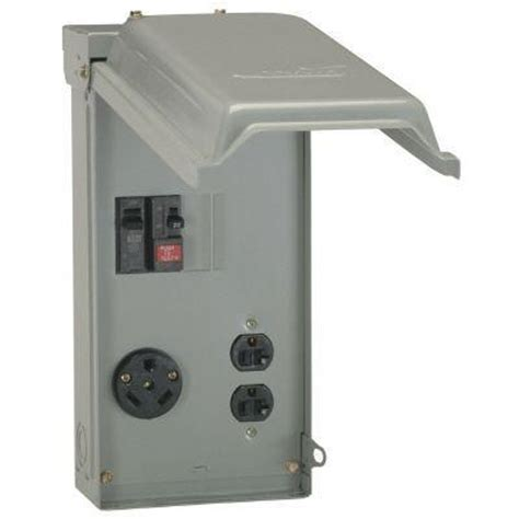 ge 70 power outlet box with duplex 20 gfci outlet