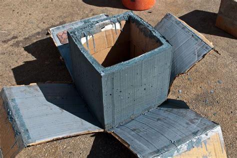 Diy Large Concrete Planters by Diy Concrete Planter Box Diy Concrete Planters