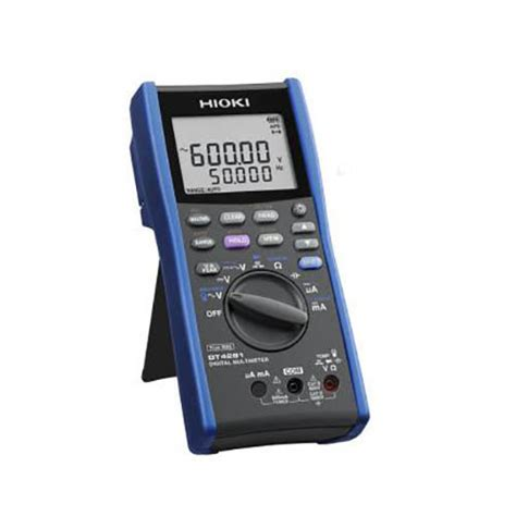 Multimeter Digital Hioki hioki dt4281 true rms digital multimeter 1000v ac dc
