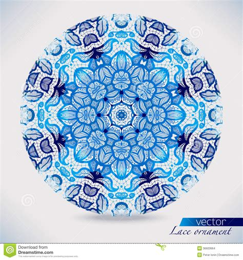 watercolor lace patterns stock images image 36603664