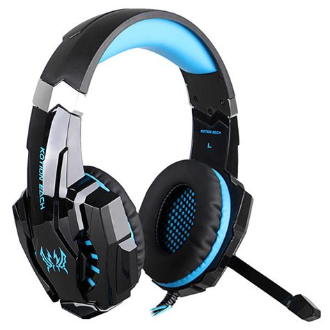Headset Earphone Fineblue Fhd 9000 kotion each g9000 usb 7 1 surround sound gaming headphone headset earphone with microphone led