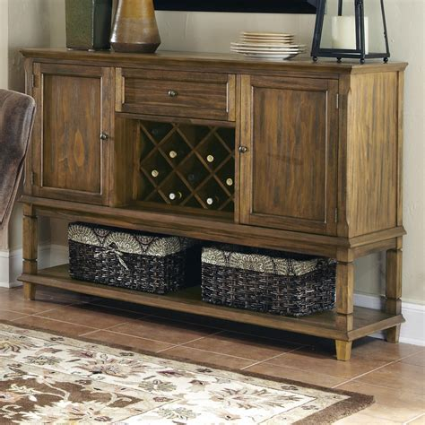Rack Furniture by Coaster Furniture 103715 Parkins Server In Coffee With