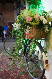 Wedding Secret Garden   bicycles flowers   Garden party