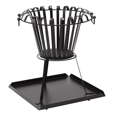 feuerkorb hoch feuerkorb feuerstelle bilbao 3 kg 54 cm hoch aus metall