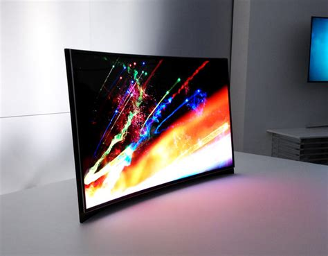 Tv Samsung Oled ces 2013 samsung intros a curved oled tv
