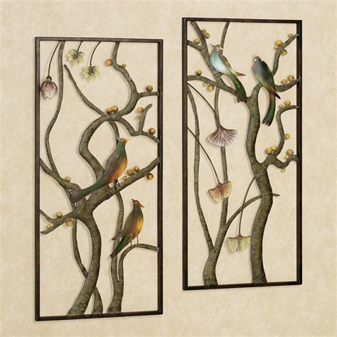 Outdoor Wall Decor Metal by Garden Metal Wall Panel Set