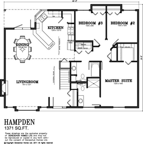 1300 sq ft house deneschuk homes 1300 1400 sq ft home plans rtm and