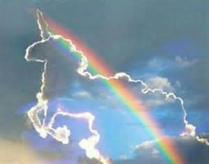 cloud dream rainbow sky unicorn image 4562537 by