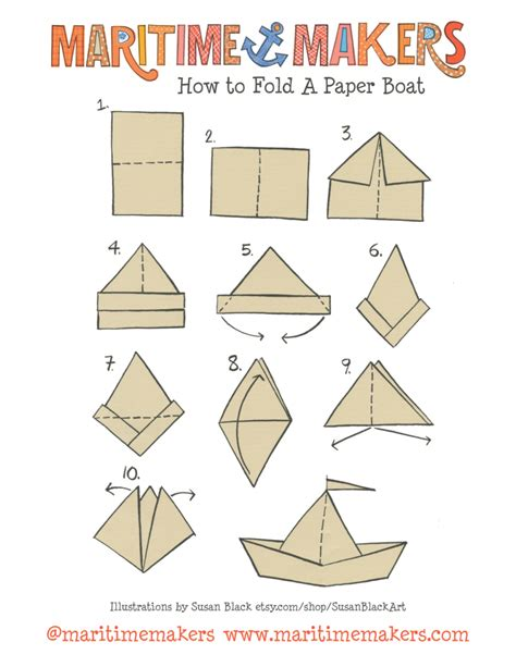 Origami Pirate Hat - origami origami how to make a paper hat