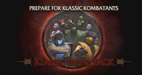 Kaset Bd Ps 4 Mortal Kombat Xl Pack 1 mortal kombat klassic pack 1 j 225 dispon 237 vel para ps3 gamevicio