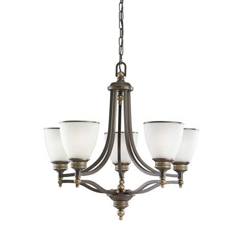 sea gull lighting chandelier sea gull lighting laurel leaf 5 light estate bronze